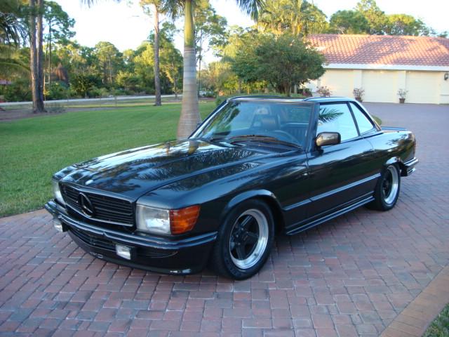 1985 mercedes sl500