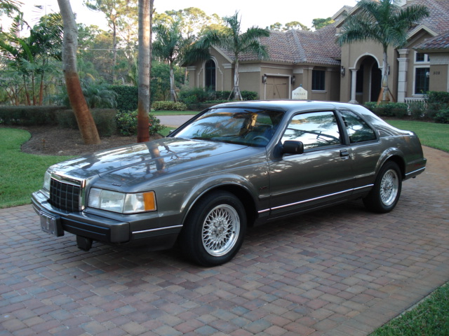 1990 Lincoln LSC for Sale http://www.curiouscars.com/car_pages/1990_lincoln%20_mark_vii_lsc.htm